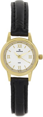 Maxima 32200LMLY Gold Analog Watch  - For Women