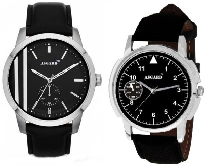 Asgard Combo 2LINES&g9 Analog Watch  - For Men
