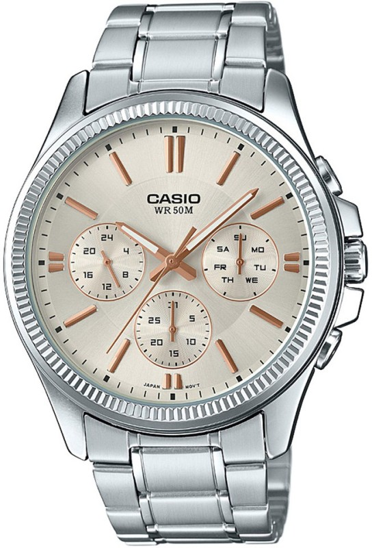 Casio A1078 Enticer Mens Analog Watch For Men