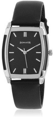 Sonata NF7080SL02 Analog Watch - For Men