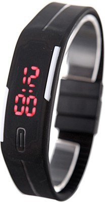 Fastrend Led Rubber Magnet Led Digital Watch  - For Boys, Men, Girls