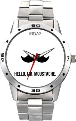 Ridas 6114_white cross Analog Watch  - For Men