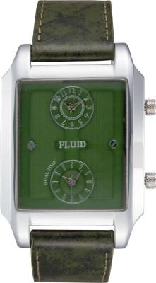 Fluid FL-128-GR01 Analog Watch  - For Men