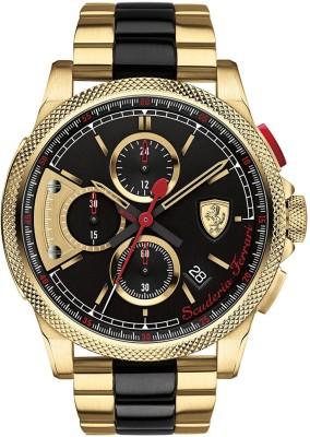 Scuderia Ferrari 0830316 Formula Italia S Analog Watch  - For Men