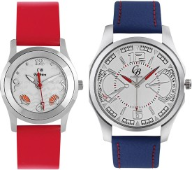 CB Fashion 123-205 Analog Watch - For Couple