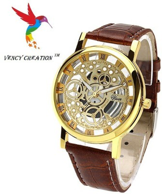 vency creation V-Tans gold. Analog Watch  - For Men