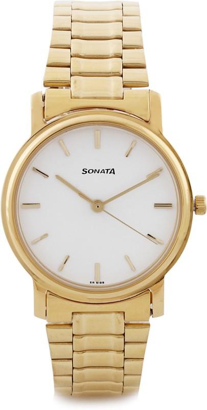Sonata ND1013YM03C Analog Watch For Men