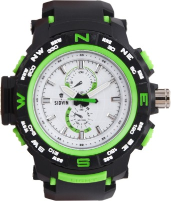 SIDVIN AT6051GRW Youth Series Analog Watch  - For Boys, Men