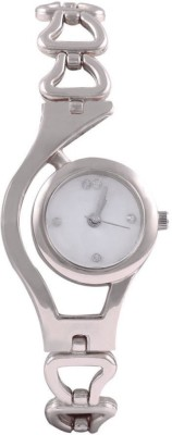 Varni Retail SILVER_CHAIN Analog Watch  - For Girls