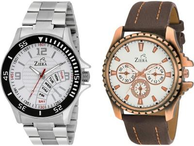 Ziera ZR-2256+ZR-1245 Dual fashion combo Analog Watch  - For Boys, Men