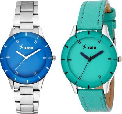 Xeno ZD000225CL Blue Sea Green Combo Women Analog Watch  - For Girls, Women