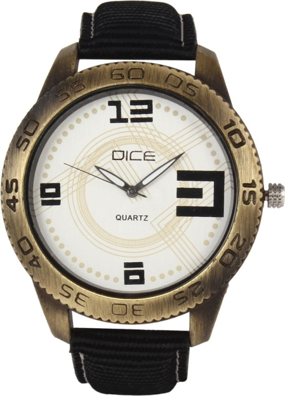 Dice DCMLRD38LTBLKWIT060 Analog Watch For Men