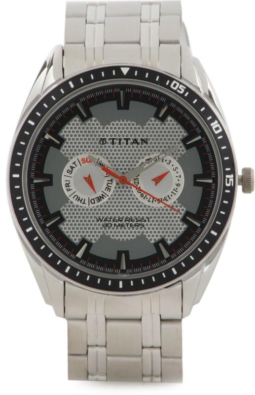 Titan NF1582KM01 Octane Analog Watch For Men