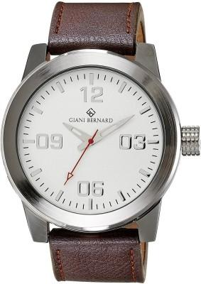 Giani Bernard GB-103B Shield Analog Watch  - For Men