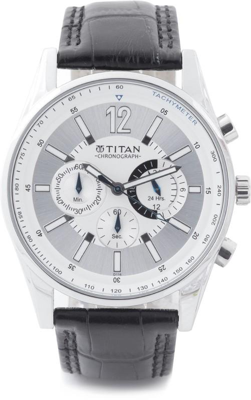 Titan NH9322SL02 Classique Analog Watch For Men