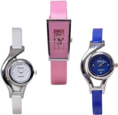RODEC Combo of three stylish womens analog watch Analog Watch  - For Girls, Women