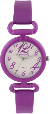 Mango People Purple Number Designed Dial Analog Watch  - For Girls, Women