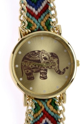 RBS Online Trading Company Elephant_dial_rakhi_watch_20 Analog Watch  - For Girls, Women
