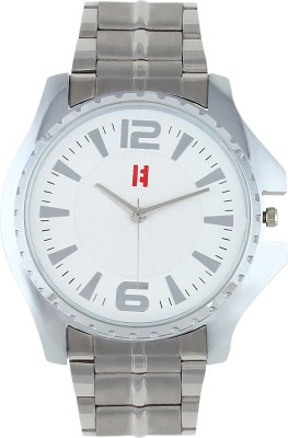 Excelencia MW-27-Silver-WHT Classic Analog Watch  - For Men