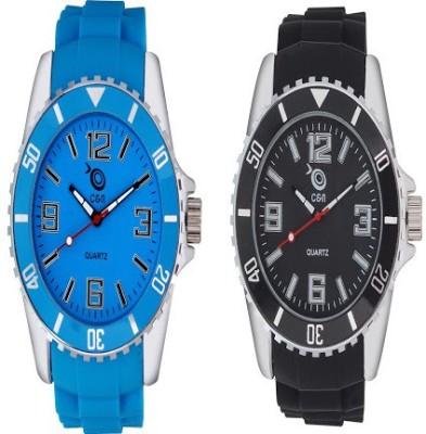 Chappin & Nellson Combo-CNP-10-M-Black&Blue Basic Analog Watch  - For Women