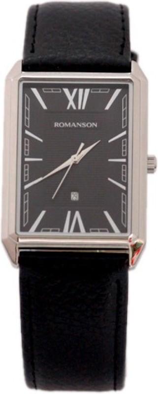 Romanson TL4206MM1WA32W Swiss Quartz Analog Watch For Men