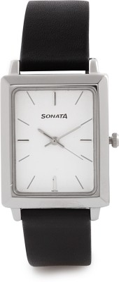 Sonata NG7078SL03 Classic Analog Watch - For Men