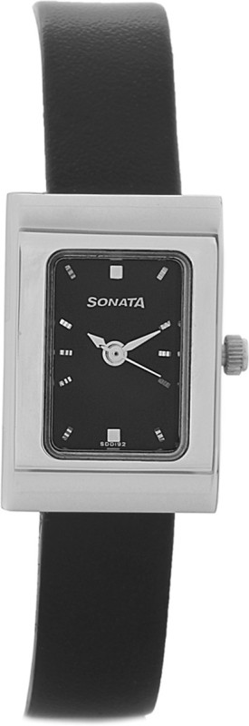 Sonata 8102SL02C Analog Watch For Women