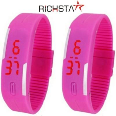 Richstar LED Band02PC Digital Watch  - For Boys, Couple, Girls, Men, Women