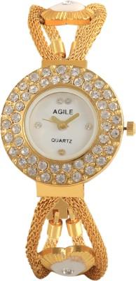 Agile AG248 Fabric Analog Watch  - For Women, Girls