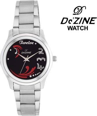 Dezine BLACK DESIGNER DIAL -LR072 Analog Watch  - For Girls