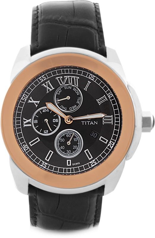 Titan 9492KL06 Classique Analog Watch For Men
