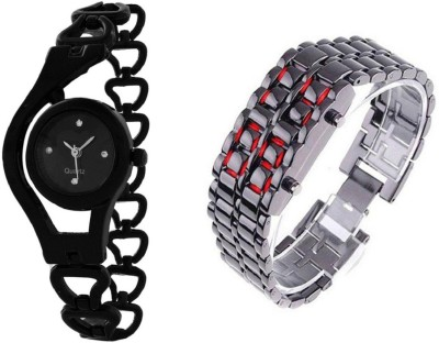 TRUE COLORS FUTURE GANERATION COMBO HOT SELLING COMBO Analog-Digital Watch  - For Couple