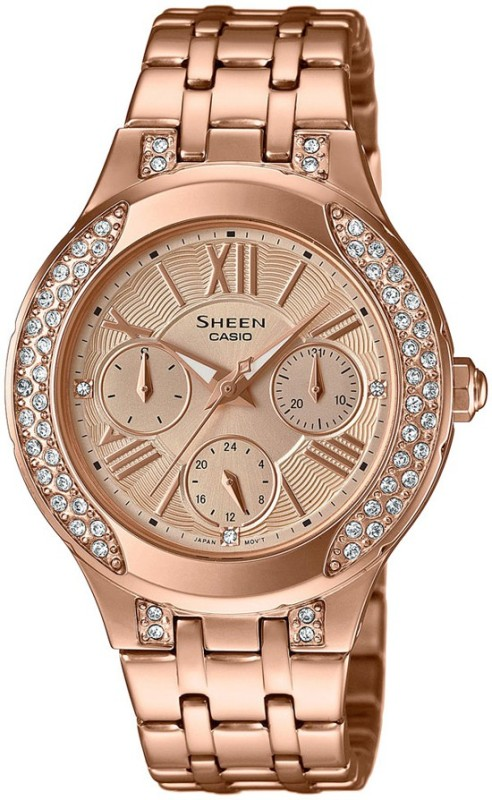 Casio SX177 Sheen Analog Watch For Women