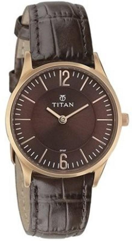 Titan 95035WL02J Analog Watch For Women