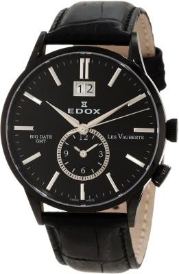 Edox 62003 37N NIN Les Vauberts Analog Watch  - For Men