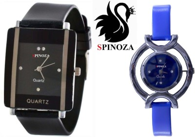 SPINOZA glory black blue pack of 2 beautiful watches for girls Analog Watch  - For Women