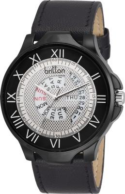 Britton BR-GR4816-WHT-BLK Rado Series Analog Watch  - For Boys, Men