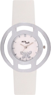 Minuut MNT-033-L-WHT Analog Watch  - For Women