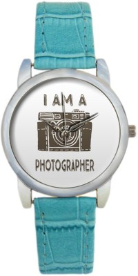 BigOwl BigOwl I am Photographer Camera Illustration 2004394503-RS3-S-TEA Analog Watch  - For Women