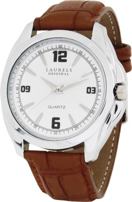 Laurels Lo-Dip-301s Diplomat Analog Watch - For Men