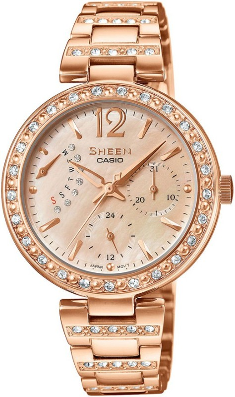 Casio SX162 Sheen Analog Watch For Women