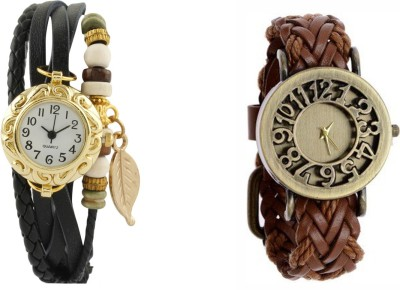 COSMIC MD9654 PACK OF 2 WOMEN BRACELET WATCHES Analog Watch  - For Women