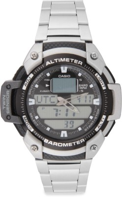 Casio AD166 Outdoor Analog-Digital Watch  - For Men