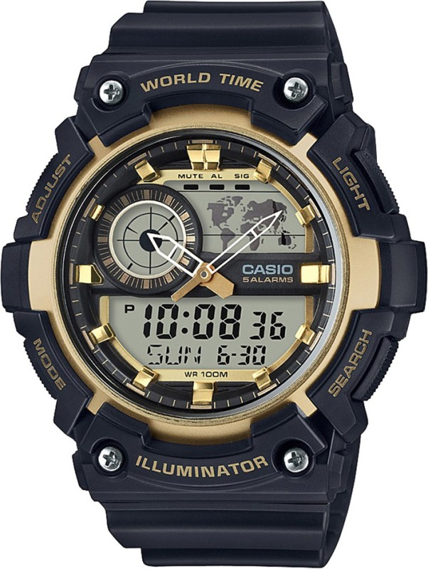 Casio AD212 Youth Combination Analog Digital Watch For Men