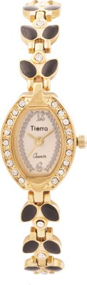 Tierra NGL-1021 Exotic Leaf Analog Watch  - For Women, Girls