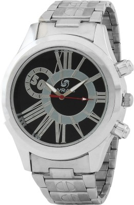 Wrab 50-blk Analog Watch  - For Men