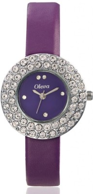 Oleva Olw-16 Purple Analog Watch  - For Women