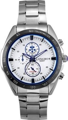 Longbo HLBLK216540 Saffron Analog Watch  - For Men