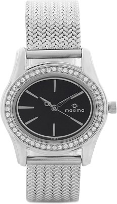Maxima 29552CMLI Swarovski Attivo Analog Watch - For Women