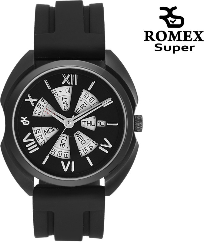 Romex Stunning Day N Date Analog Watch For Men